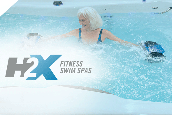 H2X Swim Spas by Master Spas