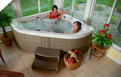 There's a Master Spas that is right for you no matter how tight the space.